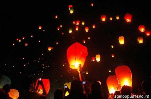 leteći lampioni cena