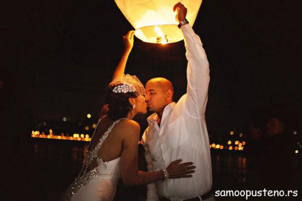 za romantične trenutke
