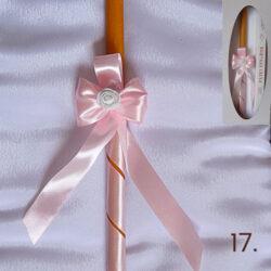 sveca za krstenje devojcice