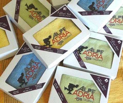 Alpe Adria - reklamni peškiri