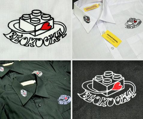 Beokocka - vez na košuljama