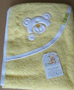 peskiri za bebu sa kapuljacom