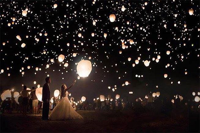 Lampioni za venčanje