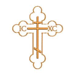 pravoslavni krst u vezu