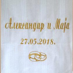 platno za venčanje u crkvi
